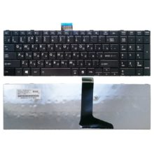 Клавиатура для ноутбука Toshiba Satellite C50, C70, C70D, C75, C75D, C850, C850D, C855, C855D, C870, C870D, C875, C875D, L50, L850, L850D, L855, L855D, L870, L870D, L875, L875D, P870, P875, P850, P855 Black Чёрная (23C43-RU, AER15U00310)