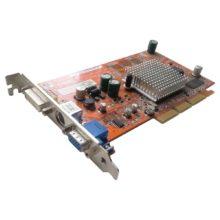 Видеокарта AGP 128 mb ATI Radeon 9200SE (A9200SE/TD/N/128M/A) Б/У