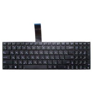 Клавиатура для ноутбука Asus A56, K56, R510, X501, F501, X502, X550, A552, F552, X552, X750 Без рамки, Black Чёрная (OEM)
