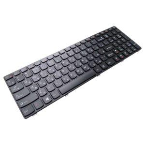 Клавиатура для ноутбука Lenovo IdeaPad G500, G505, G510, G700, G710 Black Черная с рамкой (OEM)