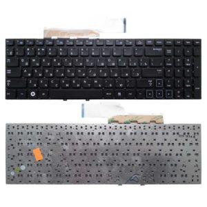 Клавиатура для ноутбука Samsung NP300E5A, NP300E5C, NP300E5Z, NP300V5A, NP305V5A, NP300V5Z, NP305E5A, NP305V5A Без рамки, Black Чёрная (OEM)