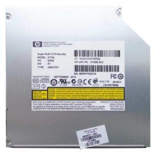 Привод DVD+RW HP GT30L для ноутбука HP Pavilion dv6-3000, dv6-3xxx 8x SATA 12.7 мм без панели Б/У (603677-001, 574285-6C0)