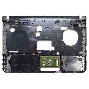 Верхняя часть корпуса ноутбука Sony Vaio VPCEA, PCG-61211V, VPCEA4M1R, VPCEA3M1R Black Чёрная (012-030A-2984-A, 4-178-426)