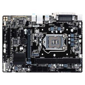 Материнская плата Gigabyte GA-B150M-D3V Intel B150, 1xLGA1151, 2xDDR4 DIMM, 1xPCI-E x16, встроенный звук: HDA, 7.1, Ethernet: 1000 Мбит/с, форм-фактор microATX, DVI, USB 3.0
