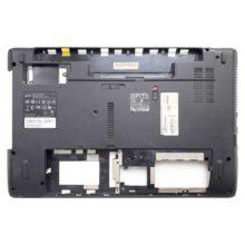 Нижняя часть корпуса ноутбука Acer Aspire 5251, 5551, 5551G, 5552, 5552G, 5741, 5742G с разъемом 5.5x1.7 и шлейфом питания (AP0C9000410) Уценка!