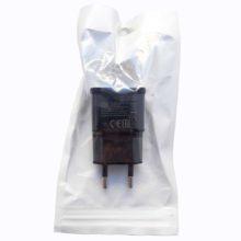 Адаптер питания, сетевое зарядное устройство для телефонов, смартфонов и планшетов Samsung USB выход 2А Black Черное, Европакет (ETA-U90EWE, SM001603)