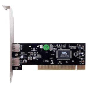 Контроллер PCI to USB 2.0 VIA VT6212L 2-port OEM (GEMBIRD UPC-20-2P)