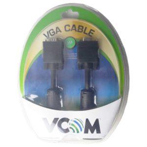 Удлинитель VGA, SVGA 15M – 15F с фильтрами 3 метра Black Черный