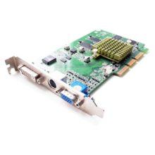 Видеокарта AGP 32 mb ATI Radeon VE DVI, VGA/D-SUB, SVHS Б/У