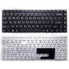 Клавиатура для ноутбука Sony Vaio VGN-FW, VGNFW Black Чёрная, без рамки (OEM)