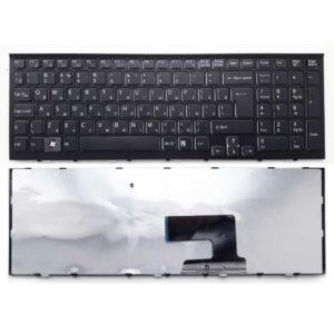 Клавиатура для ноутбука Sony Vaio VPC-EE, VPCEE, VPCEE2E1R, VPCEE3E1R, VPCEE4M1R, VPCEE4E1R Black Чёрная (V116646AB)