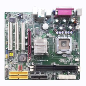 Материнская плата Epox EP-5M800P-M LGA775 VIA P4M800 Pro 2xDDR2, AGP, LAN, 3xPCI, 2xIDE, 1xFDD, 2xSATA, MicroATX Уценка!