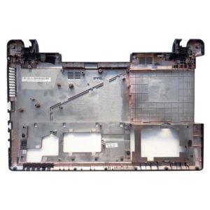 Нижняя часть корпуса ноутбука Asus X55, X55A, X55L, X55C, X55SR, X55SV, X55U, X55VD, F55C (13GNBH2AP031-1, 4AXJ3BCJN00, JTJ13GNBH2AP031, 13GNBH2AP031, 13GNBH20P01X-9)