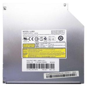 Привод DVD+RW Panasonic UJ8B1 для ноутбука Lenovo G570, G575 8x SATA 12.7 мм без панели (PIK-UJ8B1, 25-013478) Б/У