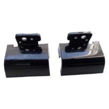 Заглушки петель ноутбука HP Pavilion g6-2000, g6-2xxx, g6-2004er Black Чёрные, Комплект, Левый + Правый (R36-L, R36-R)