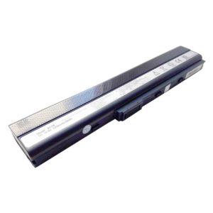 Аккумуляторная батарея для ноутбука Asus K52, A52, A40J, A42, A62, B53, F85, F86, K42, K62, N82, P42, P52, P62, P82, P52, PR067, PR08C, Pro5IJ, X42, X5I, X52, X67, X8C 10.8V 5200mAh/56Wh Black Черная (A32-K52, A42-K52, BC06)