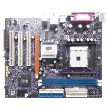 Материнская плата Elitegroup 761GX-M754 Soket 754, SiS761GX, PCI-E + SVGA, 2xDDR PC-3200, 2xSATA, 2xIDE, FDD, LAN RJ-45, USB2.0 MicroATX (761GX-M754 V:3.0A, 15-K97-013010) Б/У