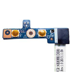 Кнопка включения, старта, запуска + дополнительная кнопка RECOVERY со шлейфом 6-pin 130 мм для ноутбука Lenovo IdeaPad G500, G505 (LS-9631P, VIWGR NBX0001DE00)