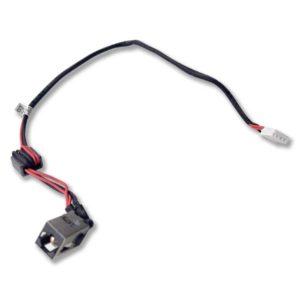 Разъем питания 5.5×2.5 с кабелем 4-pin 265 мм для ноутбука Lenovo G470, G470AP, G475, G570, G575, Y470, Y471 (DC30100CS00)