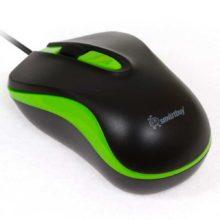 Мышь USB SmartBuy 317 Black/Green (SBM-317-KN)