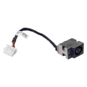 Разъем питания 7.4×5.0 с кабелем 8-pin 120 мм для ноутбука HP Pavilion g4, g6, g7, g6-1000, g6-1xxx серий (R15, DD0R15AD000)