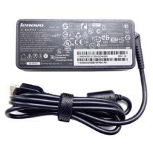 Блок питания для ноутбука Lenovo 20V 3.25A 65W прямоугольный разъем, Original Оригинал (ADLX65NCT3A, 36200292, 45N0321, 45N0322, CT-800)