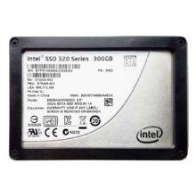 """Жесткий диск 2.5"""" 300 ГБ Intel SSD 320 Series SATA (SSDSA2CW300G3) Б/У"""