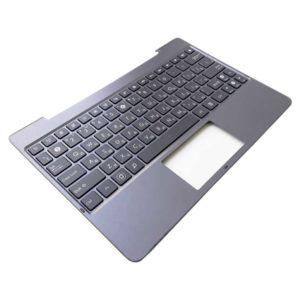 Верхняя часть корпуса с клавиатурой для ноутбука Asus TF701 без тачпада, Silver Серебристая (13NM-0RA0501, 13NK00C1AP1401, MP-13J23SU-5282, 0KNK0-C103RU, 0KNM-0R2RU)
