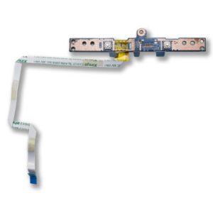 Плата кнопок тачпада со шлейфом 4-pin 200×5 мм для ноутбука Toshiba Satellite C850, C850D (N0ZWT11B01, PL/CS T2 BTN BRD)