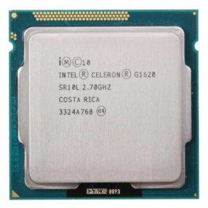 Процессор Intel Celeron G1620 2x2700MHz, 2Mb, Intel HD Graphics, LGA1155 (SR10L)