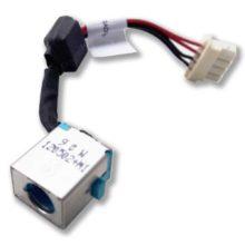 Разъем питания 5.5x1.7 с кабелем 4-pin 100 мм для ноутбука Acer Aspire E1-421, E1-431, E1-471, V3-471, V3-471G, V3-731, V3-771, V3-771G, Travelmate P243, Gateway NE46R (DD0ZQSAD000)