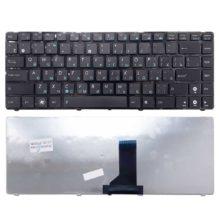 Клавиатура для ноутбука Asus K42, B43, K41, K42, K43, K84, N43, N82, P42, P43, U30, U31, U35, U36, U40, U41, UK30AT, UL30, UL80, X35, X42, X43, X44 Black Черная (V423052AS1)