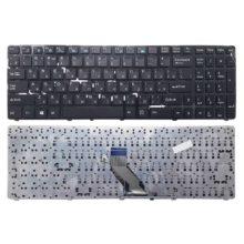 Клавиатура для ноутбука DNS 0157894, 0157896, 0157899, 0157900, 0164780, ECS MT50, MT50II1, MT50IN Black Черная (SF-2196, 002-09Q33LAD03)