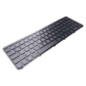 Клавиатура для ноутбука HP Pavilion Envy 15-b, 15T-b, 15-b000, Sleekbook 15, TouchSmart 15-b100 с рамкой, Black Черная (NB008-AUS)