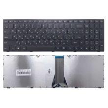 Клавиатура для ноутбука Lenovo G50-30, G50-45, G50-70, G50-70A, G50-75, S500, Z50-70, Z50-75 с рамкой, Black Черная (MB341-002, G50-70)