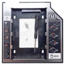 Переходник HDD в отсек привода SATA-SATA 9.5 мм для ноутбуков (Second HDD Caddy)