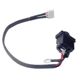 Разъем питания 5.5×3.0 c кабелем 4-pin 160 мм для ноутбука Samsung N120, N128, N130, X420, R518, R519, R520, R522, R620, Q320, Q430, Q330, Q460, P330 (PJ084)