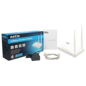Роутер Netis WF2419E Wi-Fi точка доступа, 802.11n,  300 Мбит/с, маршрутизатор, коммутатор 4xLAN, 2 антенны