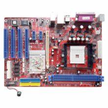 Матeринская плата S754 Biostar NF44X-A7, Soket 754, NVIDIA nForce4 4X, PCI-E, 2xDDR PC-3200, 4xSATA, 2xIDE, FDD, LAN RJ-45, USB2.0, ATX (NF44X-A VER:1.0, NF44X-A7, NF44XA7-01) Б/У