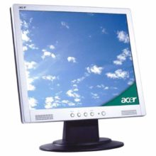 """Монитор 17"""" ACER AL1715s LCD, 1280x1024, VGA D-Sub Silver Серебристый (ET.L1208.440) Б/У"""