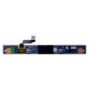 Плата кнопок тачпада со шлейфом 4-pin 35×5 мм для ноутбука Lenovo IdeaPad G560, G565 (LS-5760P, NIWE1 NBX0000Q200)