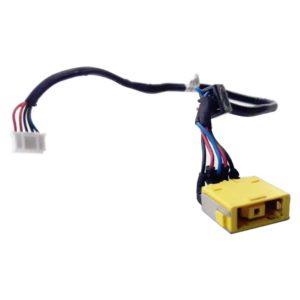 Разъем питания с кабелем 5-pin 240 мм для ноутбука Lenovo IdeaPad G500, G505 (DC30100Y100)