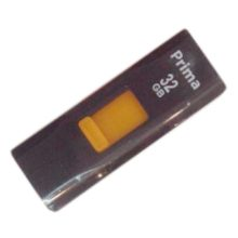 Флеш-накопитель 32 ГБ USB 2.0 Prima PD-13 Black Черный