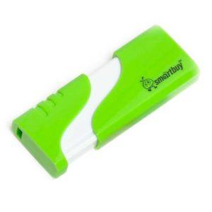 Флеш-накопитель 32 ГБ USB 2.0 SmartBuy Hatch Green Зеленый