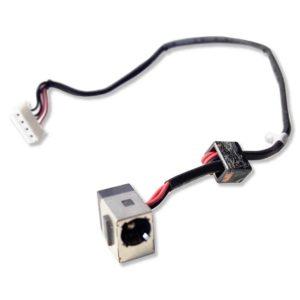 Разъем питания 5.5×2.5 с кабелем 4-pin 260 мм для ноутбука Lenovo G450, G560, G565, Z560, Z565 (DC301009700)