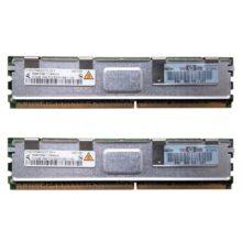 Модуль памяти DDR2 1 ГБ (512 МБ x 2) PC2-5300F 667 Mhz HP (398705-051, HYS72T64400HFD-3S-A)