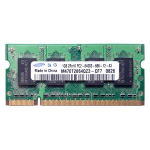Модуль памяти SO-DIMM DDR-II 1 ГБ PC2-6400 800 Mhz SAMSUNG (SEC)