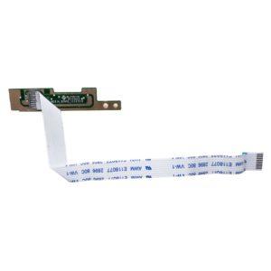 Плата функциональных кнопок Настройки, Центра поддержки и Включения/выключения дисплея для ноутбука со шлейфом 8-pin 150×9 мм Dell Inspiron 15R, N5110, M5110 (DN15_MEDIA_BOARD_11112010, DN15 Media Board, 50.4IF03.001, AWM E118077 2896 80C VW-1)