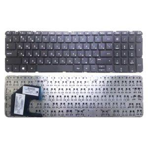Клавиатура для ноутбука HP Pavilion Envy 15-b, 15T-b, 15-b000, Sleekbook 15, TouchSmart 15-b100 Black Черная, без рамки (696284-151, 703915-151, AEU36+00210, U36)