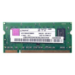 Модуль памяти SO-DDR2 1 ГБ PC-6400 800 Mhz Kingston (ACR128X64D2S800C6)